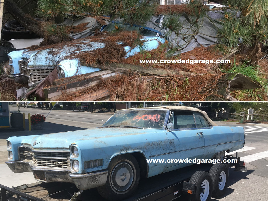 1966 Cadillac convertible project restoration